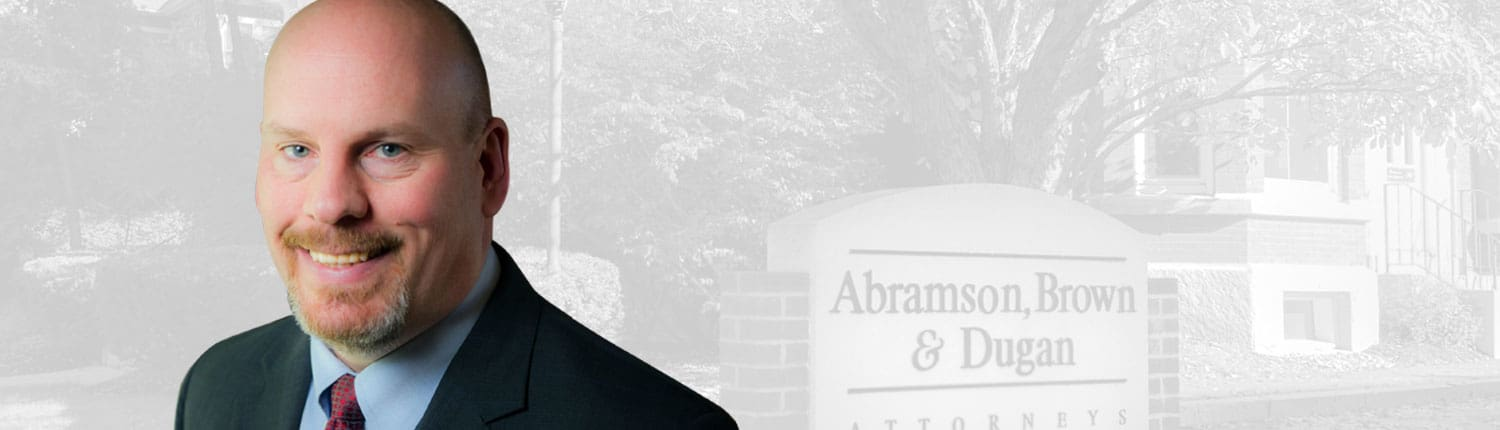 Jared Green is an attorney for personal injury in NH for the law firm Abramson, Brown & Dugan